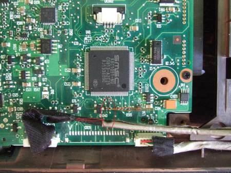 Тонкости ремонта системной платы ноутбука