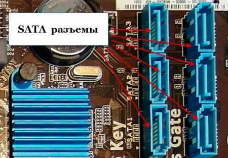 Последовательный интерфейс SATA
