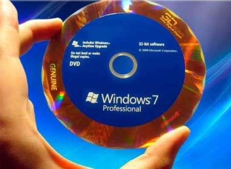 Установка с DVD