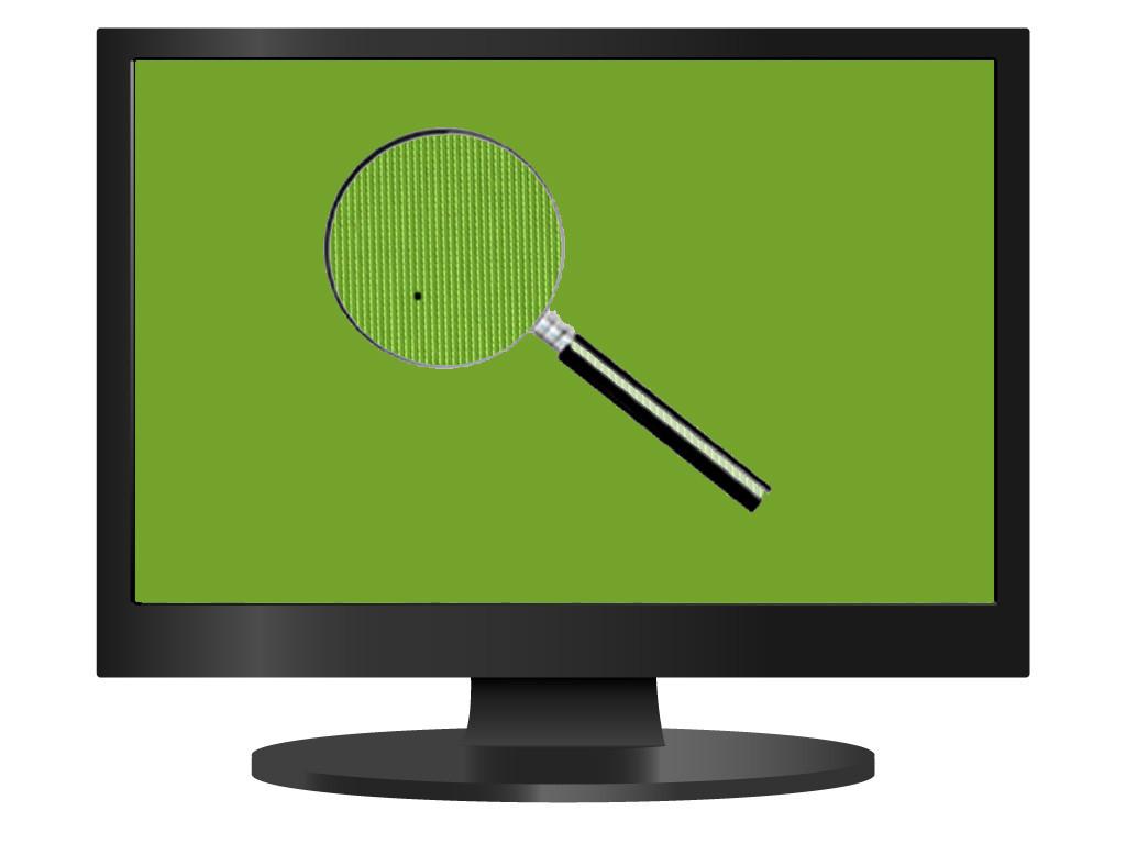 Пиксели на битые монитора программа тест