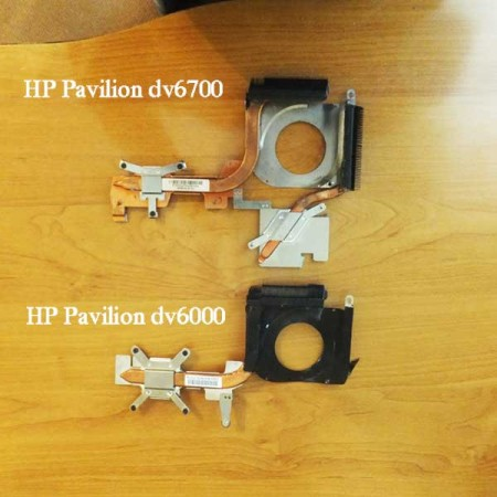 Система охлаждения HP Pavilion dv6