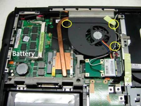 батарейка памяти CMOS