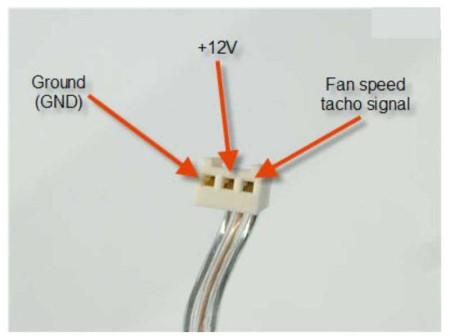 3 – х контактный вентилятор