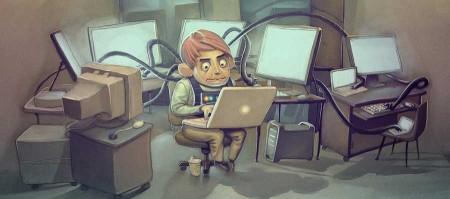 Подключаем компьютер к ноутбуку