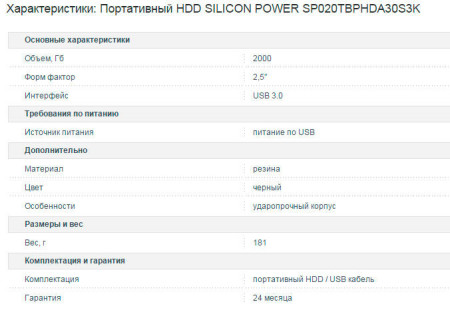 Корпус модели SILICON POWER SP020TBPHDA30S3K