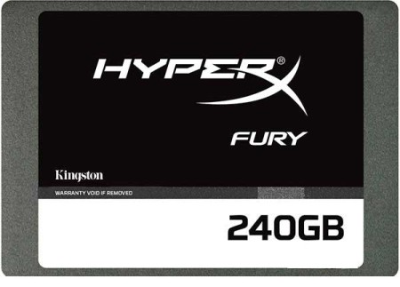 "Kingston HyperX Fury 240GB 2.5"" SATAIII MLC (SHFS37A/240G)"